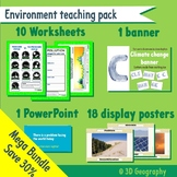 All about the environment - teaching resource bundle