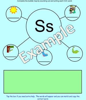 All about the letter Bb smartboard