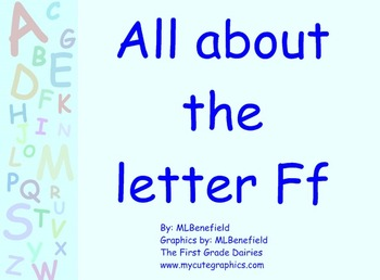 All about the letter Ff smartboard