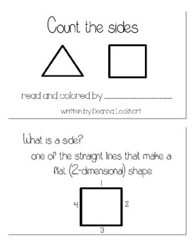 All about the shapes - a 2-D and 3-D shape unit