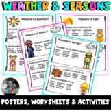 ESL Weather & Seasons - Flashcards, Worksheets & Activities