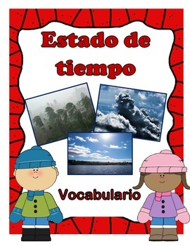 All about the weather vocabulary (Spanish version)