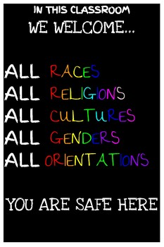 All are Welcome Poster