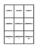 All conjugations Future passive Latin verbs Spoons game / Uno game