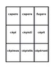 All conjugations Perfect active Latin verbs Spoons game / Uno game