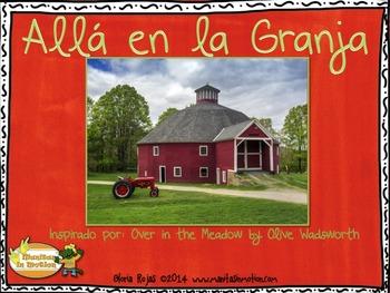 Allá en la Granja – a bilingual book, numbers, counting, a
