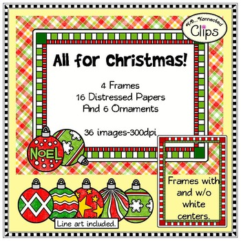 """All for Christmas """"Shabby Chic"""" Collection"""