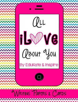 All iLove About You Writing Project
