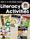 All in 1! Preschool and Kindergarten Literacy Activities