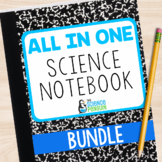 Science Interactive Notebook   All in One 3rd 4th 5th Grade