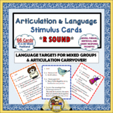 All-in-One Articulation and Language Stimulus Cards - R Sound