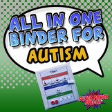 All in One Binder for Autism (Editable)