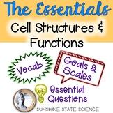 Cells: Goals & Scales, Essential Questions & Vocab
