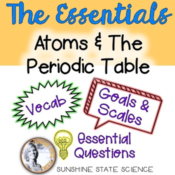 All-in-One Bulletin Board: Physical Science - Atoms & The