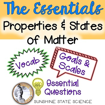Physical Science Essential Resources Bulletin Board: Matter