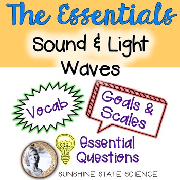 Waves - Sound & Light: Goals & Scales, Essential Questions & Vocabulary