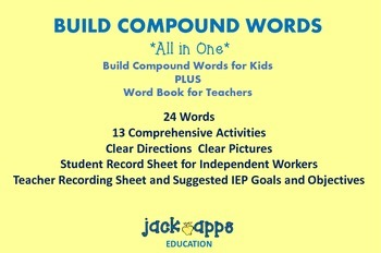 All in One Compound Word Activities