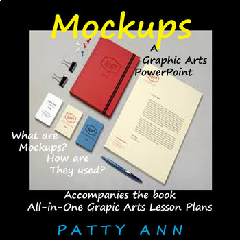 Graphic Arts Lesson Plans All-in-One ~ Full Curricula Book + 4 Powerpoints