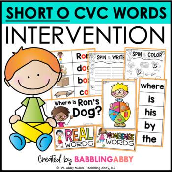 First Grade RTI Intervention: Short O