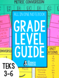 All in One Notebook Guide | 3rd 4th 5th Grade TEKS