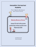 All-in-One Pre-K Lesson 11 Workbook_Bible-based