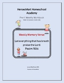 All-in-One Pre-K Lesson 12 Workbook_Bible-based
