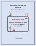 All-in-One Pre-K Lesson 14 Workbook_Bible-based