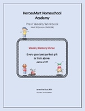 All-in-One Pre-K Lesson 18 Workbook_Bible-based