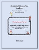 All-in-One Pre-K Lesson 5 Workbook_Bible-based
