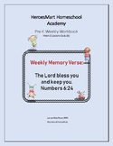 All-in-One Pre-K Lesson 6 Workbook_Bible-based