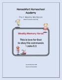 All-in-One Pre-K Lesson 9 Workbook_Bible-based