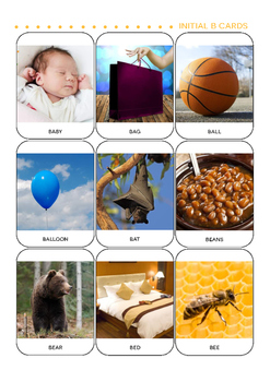 All in One Printable Flashcards