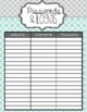 All-in-One Simple Style Teacher Binder {Mint, Yellow, & Grey}