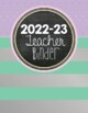 All-in-One Simple Style Teacher Binder {Foil & Chalk}