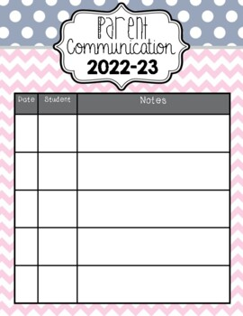 All-in-One Simple Style Teacher Binder {Pink, Navy, & Teal}