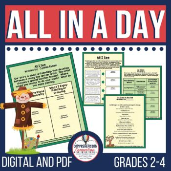 All in a Day by Cynthia Rylant Teaching Activities