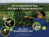 All in a Rainforest Day PDF Book and Teacher Resources