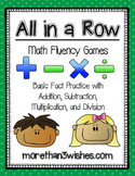 All in a Row - Math Fluency Games