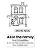 All in the Family- Fact Families File Folder Game
