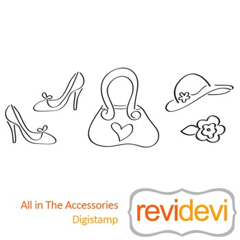 All in the accessories (digital stamp, coloring image) S03