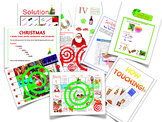 Merry Christmas! All my English Christmas resources in one BUNDLE including...