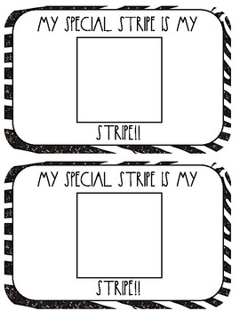 All my Stripes Book Study and Craftivity