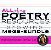 All of My Poetry Resources Growing Mega Bundle