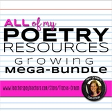 All of My Poetry Resources Growing Mega Bundle