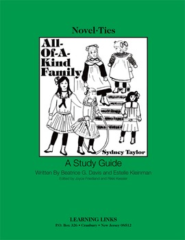 All-Of-A-Kind Family - Novel-Ties Study Guide