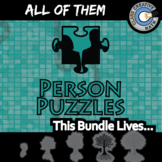 Person Puzzles -- ALL OF THEM -- Grades (3-12) - 260+ Topics - Math Curriculum