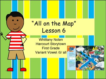 All on the Map Storytown Lesson 6