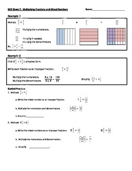 All operations with fractions