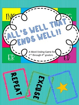 All's Well That End's Well: A Word Ending Phonics Game
