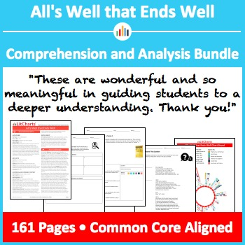 All's Well that Ends Well – Comprehension and Analysis Bundle